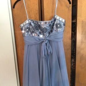 BCBG periwinkle dress - like new!